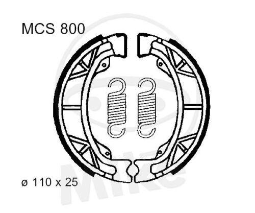 Trw Lucas mâchoires avec plumes mcs800 AVANT HONDA C 50 la CUB