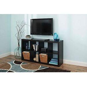 New 8 Compartment Shelf Organizer Tv Stand Storage Cube Bookcase
