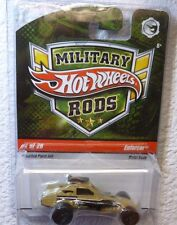 2009 MILITARY RODS HOT WHEELS ENFORCER #1 /26 In Protector!