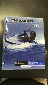 2001 Seadoo Gtx Service Manual