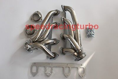 exhaust header for STAINLESS SHORTY HEADER EXHAUST MANIFOLD FOR 330//360//390-428 FORD BIG BLOCK FE