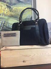 Ellington Black Shoulder Travel Women's Handbag Comes W/dust Bag Nylon Leather