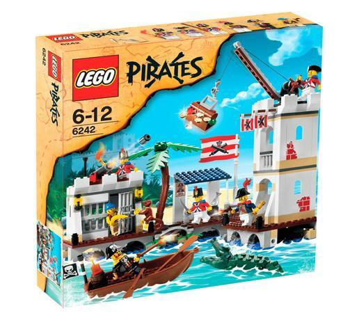 LEGO Pirates Pirates Pirates ll 6242 Soldier's Fort  New Sealed 4911e2