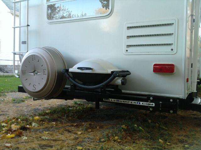 Camper Grill Bumper Mount Camping Rv Travel Trailer Motor