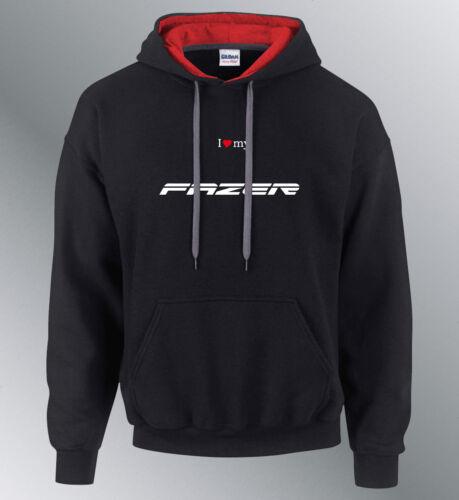 Sweat shirt Hoodie personnalise FAZER 2010 moto capuche sweatshirt fz1 fz8 fz6