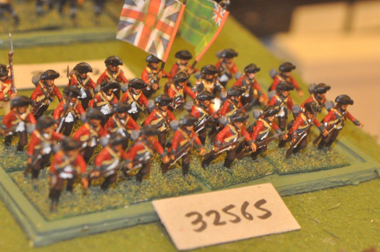 25mm AWI   british - regt. (plastic) 32 figures - inf (32565)