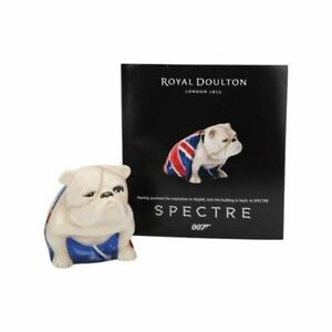 ROYAL-DOULTON-JACK-BULLDOG-SPECTRE-JAMES-BOND-NEW-FREE-SHIPPING