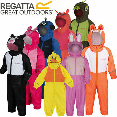 Regatta Girls Puddle III Rain Suit