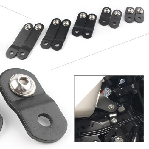"""1/""""-3/'/' Metal Gas Oil Tank Lift Kits For Harley Sportster XL 883 1200 48 72 Dyna"""