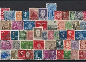 norway stamps ref 16085