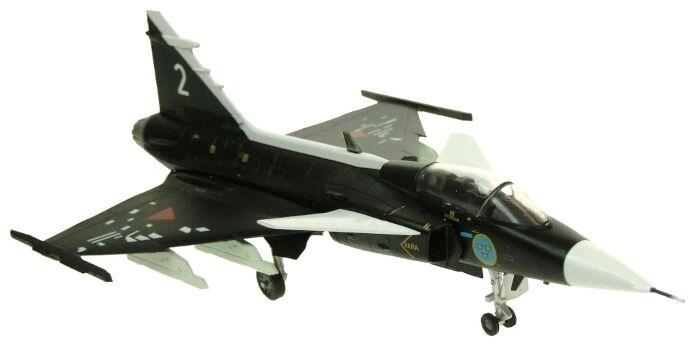 Aviación72 Av7243004 1 72 black Saab Gripen Sueca Fuerza Aérea Museo