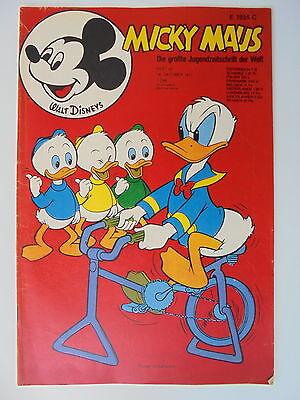 1x Comic - Micky Maus Nr. 42 - 1971 - Walt Disneys- Zustand 2