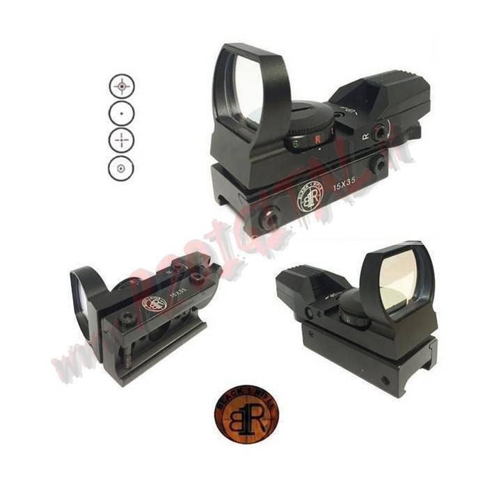 red VOYANT 15X35 black BR-RD-01 ou BRONZAGE BR-RD-02 black RIFLE RÉGLAGE
