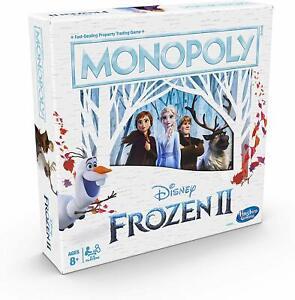 Monopoly-Disney-Eiskoenigin-2-Ausgabe-von-Hasbro-Neu-II-Brettspiel