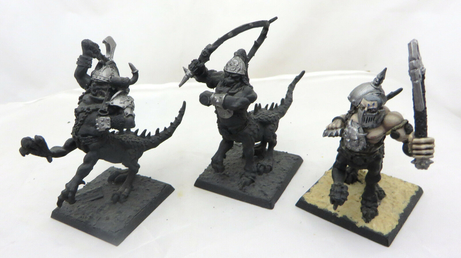 Warhammer Chaos Warriors converted Dragon Ogres metal oop slaves darkness AOS