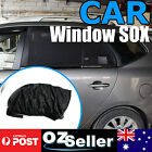 Car Window Sox Sock Black Mesh Sun Proof For Ford TERRITORY SY SZ 2004-Current