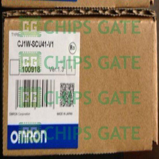1PCS OMRON Serial Communication Unit CJ1W-SCU41-V1 PLC Brand New In Box