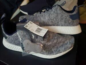 best value 10123 6c019 Details about Nwt Adidas NMD R2 UAS DA8834 Core Heather / Matt Silver /  Running NEW sz 13
