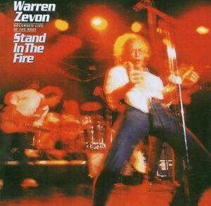 NEW-CD-Album-Warren-Zevon-Stand-In-The-Fire-Mini-LP-Style-Card-Case
