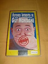 histoires Interdites de Guy Montagné VHS Spectacle