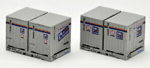 2 pieces Tomix 3158 Type 24A 15/' Containers N scale