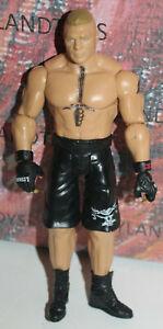 WWE Brock Lesnar Mattel Basic Wrestling Action Figure Black Attire Series