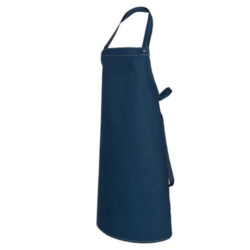 Küchenschürze Jeans Latzschürze Kochschürze Blau Grill Arbeitschürze F-JEANS