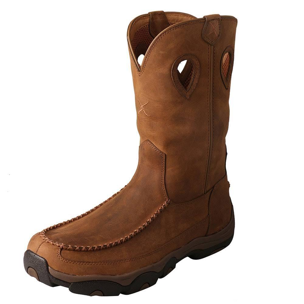 Twisted X – Uomo's Hiker Boot – X Distressed Saddle/Saddle MHKBW01 697f68