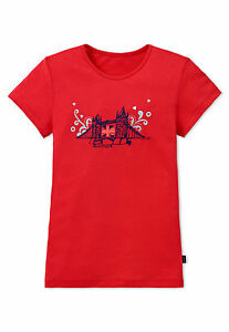 Schiesser-Chica-Mix-amp-Relax-Camiseta-T-shirt-London-Cuello-Redondo-140-152-164