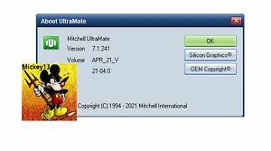 Mitchell Estimate Ultramate APRIL-2021 (v.7.1.241) Collision,Parts,Estimator