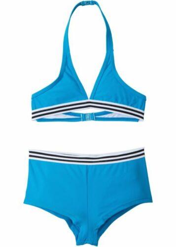 2-tlg. Mädchen Bikini 55-986 in Blau 152//158