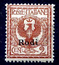ISOLE EGEO  RODI  1912 -  Centesimi  2   NUOVO **