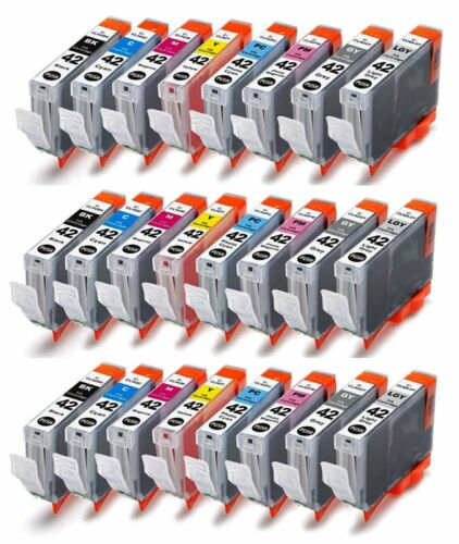 24-Pack//Pk Compatible CLI-42 CLI42 Ink Cartridge for Canon PIXMA PRO-100 100S