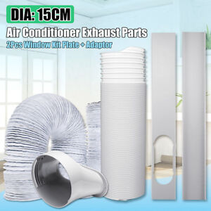 6-034-Dia-Exhaust-Hose-Window-Adaptor-Window-Slide-Kit-Plate-For-Air-Conditioner