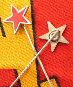 Sowjetstern Metall rot Anstecknadel Che Guevara Stern