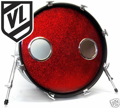 5 bass drum head mic hole kick port drum o 39 s ring choose from 3 colors ebay. Black Bedroom Furniture Sets. Home Design Ideas