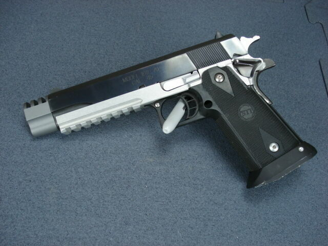 1911 Compensator Brake / Barrel Extension Slots 45acp Design Punisher Amazin