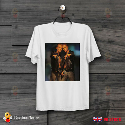 Bros Goss Brothers 80s boy band tour T-Shirt Unisex White Cotton Adults Tee