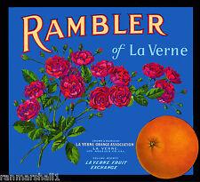 La Verne Rancho Heritage Park Lordsburg Lemon Citrus Fruit Crate Label Art Print