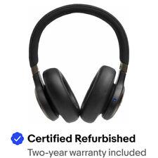 JBL - LIVE 650BTNC Wireless Noise Cancelling Over-the-Ear Headphones - Black