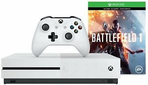 Microsoft-MAIN-26554-Xbox-One-S-500GB-Console-Battlefield-1-Bundle