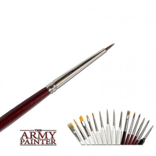 Hobby Super detalle pinceles Army Painter rotmaderhaar pinceles br7016 Brush
