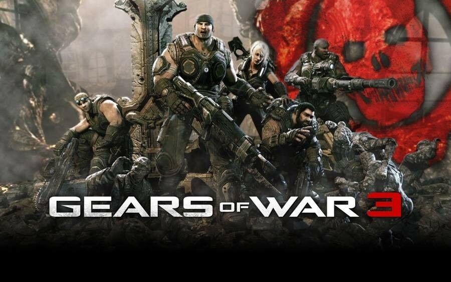 Gears of War 3, Xbox 360, action