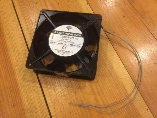 COSTECH A12B23HWB WF0 évaporation Moteur Ventilateur IP55 Roulement à billes impédance protecte