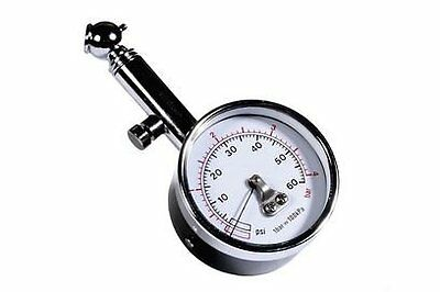 Race X PSI BAR Dial Wheel Tyre Pressure Gauge Dial Tester Meter for Car Van Bike