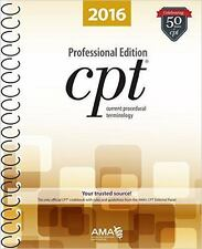 CPT 2016 Professional Edition by American Medical Association (2015, Spiral, New Edition)