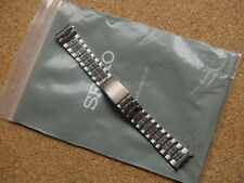 SEIKO 18mm 2 TONE STAINLESS STEEL WATCH STRAP BRACELET SHALLOW CURVED LUGEARS