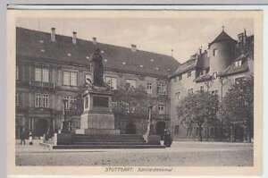 Schillerdenkmal Feldpost 1917 Direktverkaufspreis Ak Stuttgart 32272