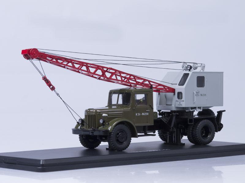 MAZ 200 K-51 verde-grigio SSM 1164 1 43