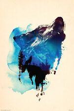 WOLF - FARKAS ART POSTER - 24x36 NATURE 5664
